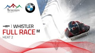 Whistler | BMW IBSF World Championships 2019 - Men's Skeleton Heat 2 | IBSF Official