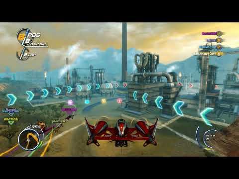 SkyDrift Infinity - Power Race with BS4-VR Soprano (Sine Mora EX)  
