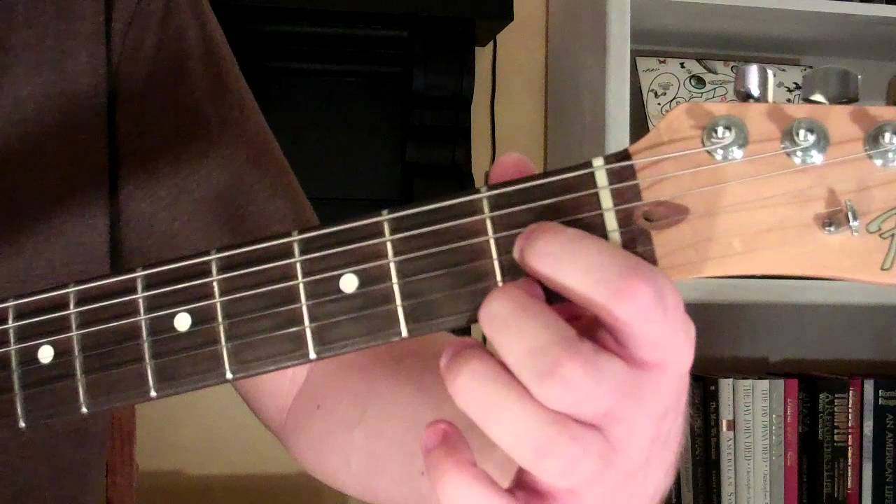 How To Play The E7 9 Chord On Guitar E 7th Minor 9th Youtube