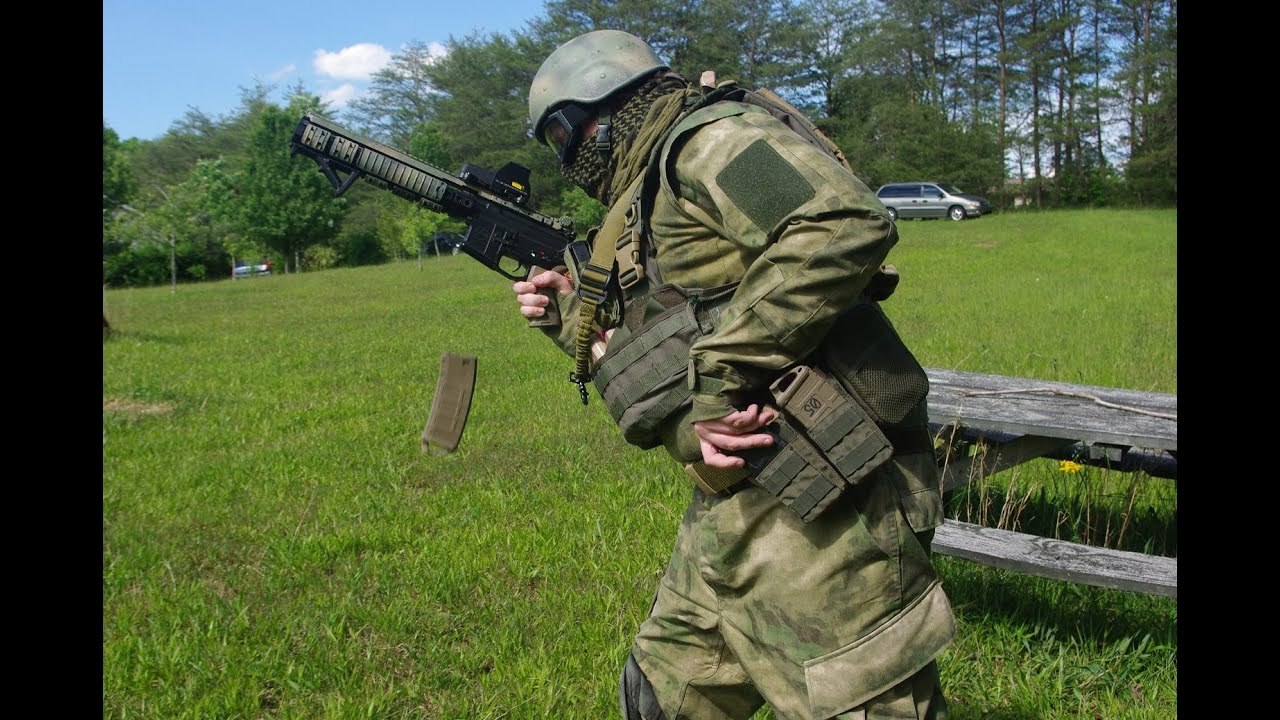 Обзор] Тактическая одежда в камуфляже A-TACS FG от OPS - YouTube