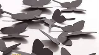 як зробити метелика з паперу поетапно