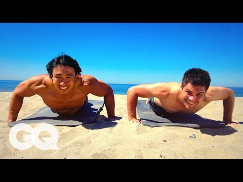 How to Get The Perfect Beach Body Six Pack Abs - GQ\'s Fighting Weight Series