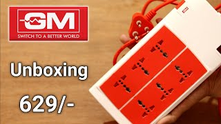 GM Extension Board Unboxing Amazon ¦ GM extension Board Review ¦ GM Best Extention Board Unboxing