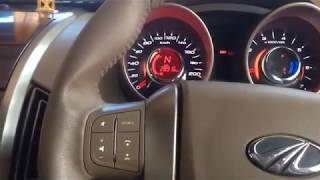 Mahindra XUV500 interiors and music system
