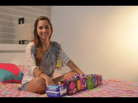 mujeres higienicas de usando fotos modelos toallas