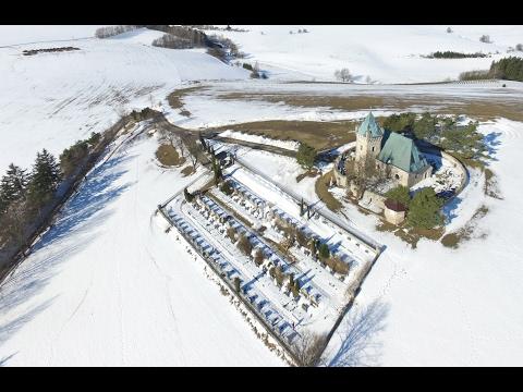 Vítochovský kostel DJI Phantom3 Advanced //  The Roman Catholic Church of the 13th century