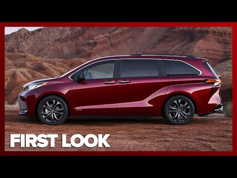 ALL NEW 2021 Toyota Sienna Looks Crazy, Packs Standard Hybrid Power, Optional AWD