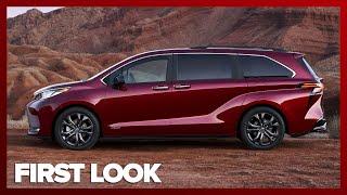 ALL NEW 2021 Toyota Sienna looks crazy, packs standard hybrid power, optional AWD