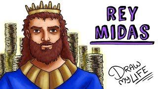 EL MITO DEL REY MIDAS 🌟🌟🌟 | Draw My Life