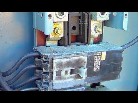 3 Phase High leg Delta breaker in single phase box - YouTube