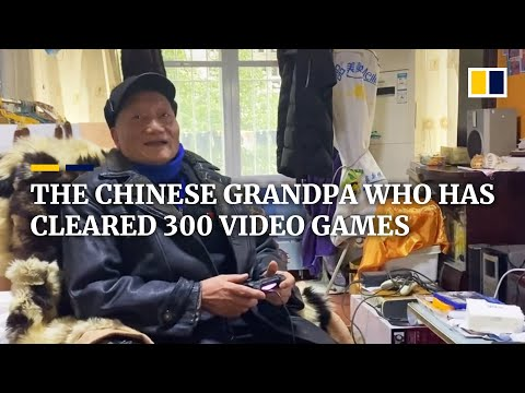 The Chinese grandpa who has cleared 300 video games