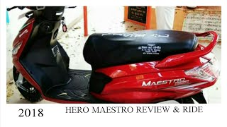 MAESTRO 2018 REVIEW and RIDE