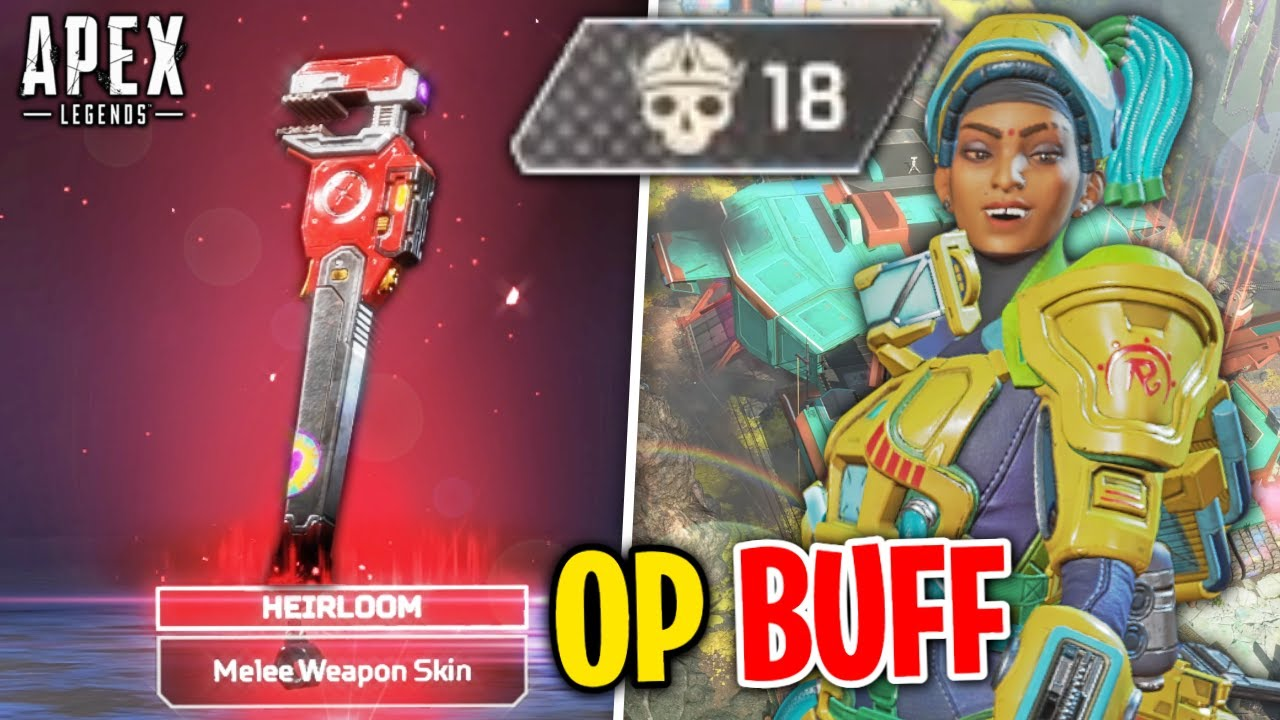 They gave Rampart an HEIRLOOM and now she's OVERPOWERED - Apex Legends