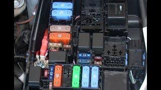Lada Vesta. ПТФ 02: Схема проводки, подключение