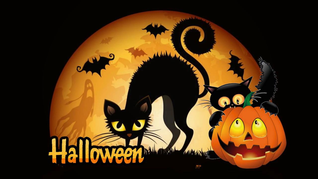 Праздник хэллоуина открытки