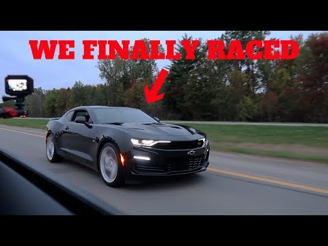 I RACED THE NEW 2019 CAMARO SS VS. MY 2018 MUSTANG GT!