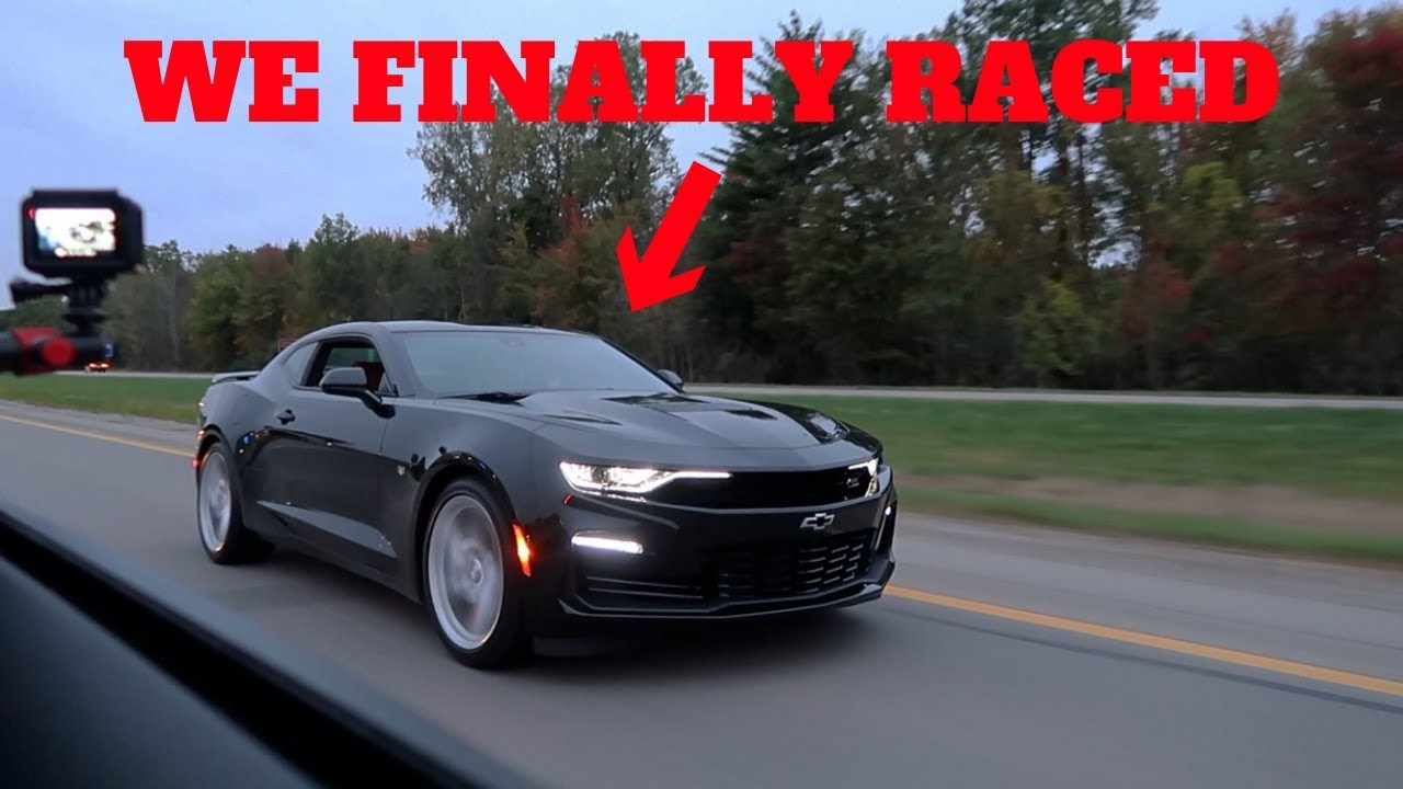 I raced the new 2019 camaro ss vs my 2018 mustang gt