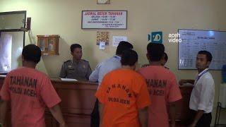 Polda Aceh Tahan Tiga Pejabat Abdya Terkait  Korupsi