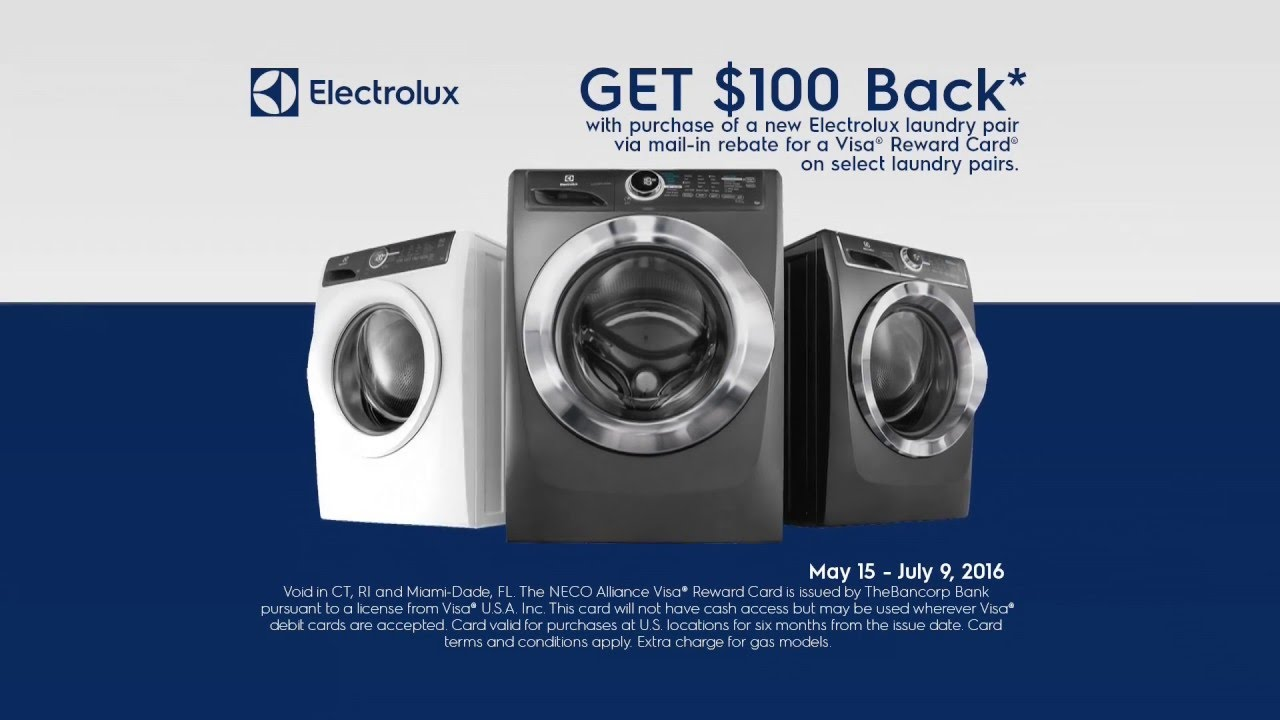 The NEW Electrolux Smart Boost Washer - YouTube