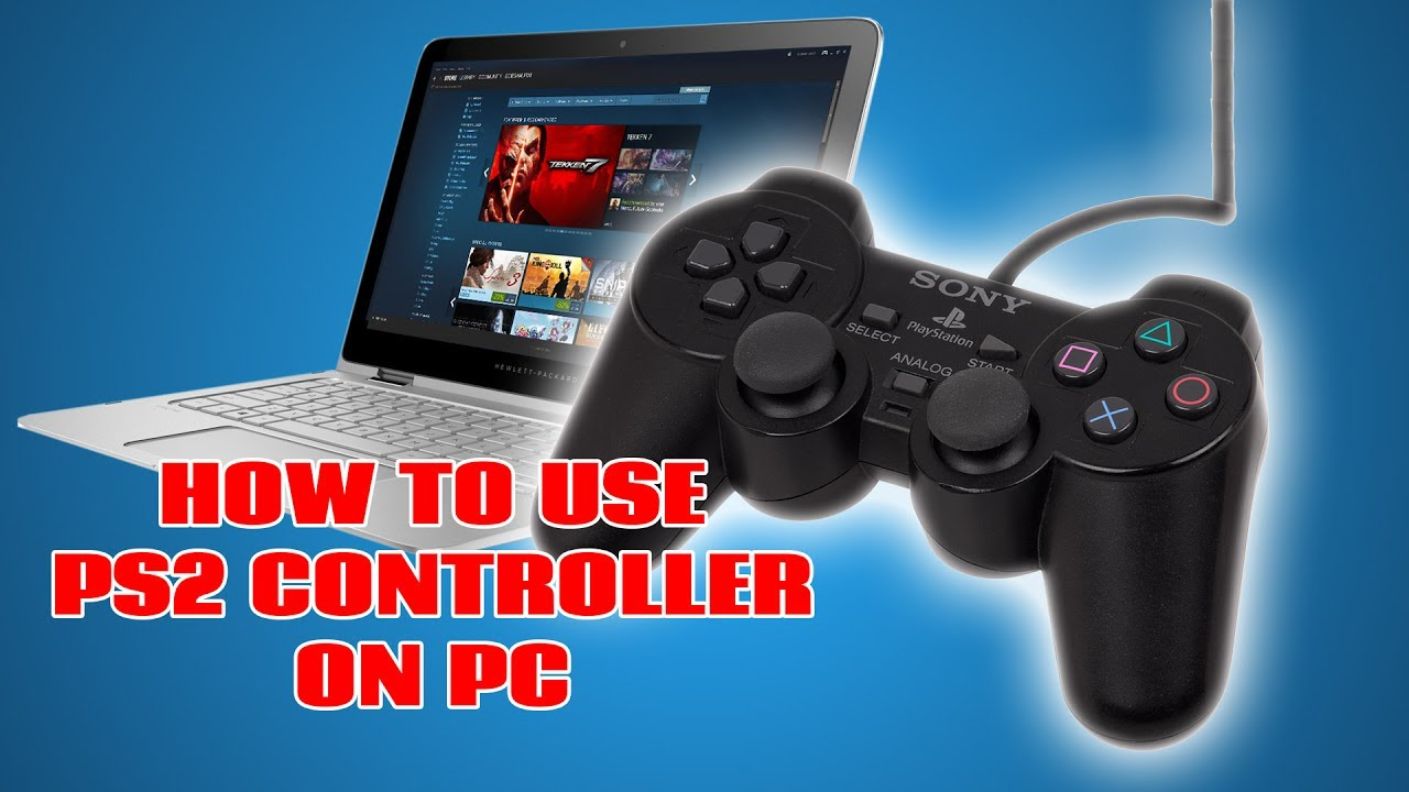 How to Easily Use a PS2 Controller on PC & Steam (Super Easy, No BS)