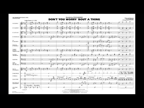 Don't You Worry 'Bout a Thing by Stevie Wonder/arr. Jay Bocook
