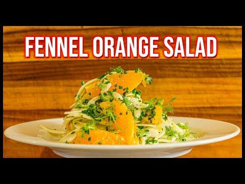 Fennel and Orange Salad | Fennel salad recipe