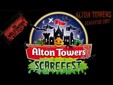 Alton towers scarefest vlog 2017