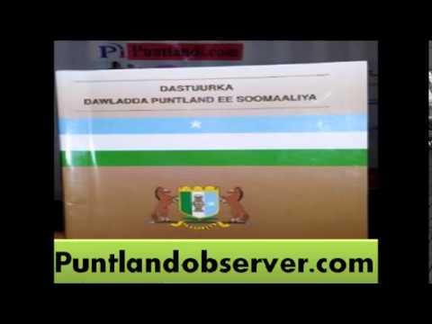 Dastuurka Puntland baro oo xafid (Diyaarintii radio Garoowe)