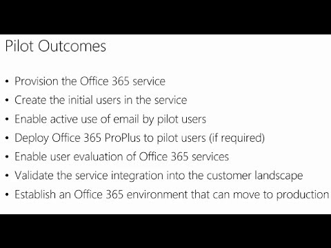 Managing Office 365 Identities and Services, 01, Preparing for Office 365