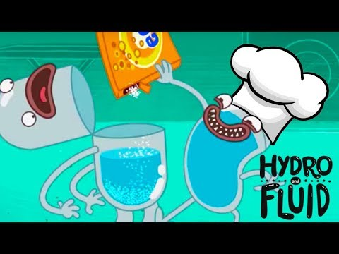 HYDRO and FLUID | It's Cooking Time!!! | HD Full Episodes | Funny Cartoons for Children