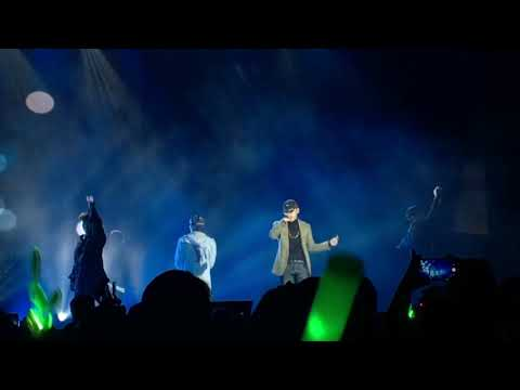 181110 Take Off (Jongup & Daehyun) - B.A.P Forever Tour in Indio, CA
