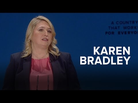 Karen Bradley: Speech to Conservative Party Conference 2016