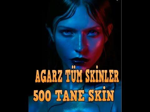 AGARZ EN İYİ SKİNLER 500 TANE SKİN
