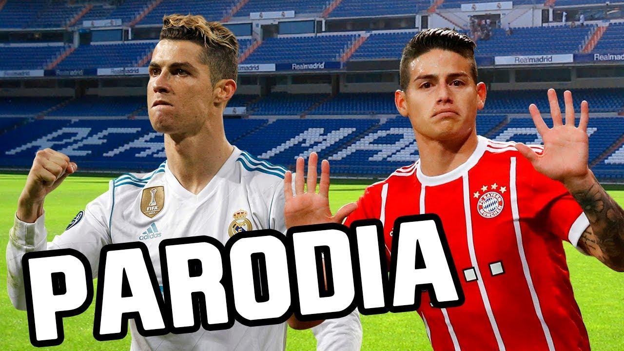 Canción Real Madrid vs Bayern Munich (Parodia Maluma - El Préstamo) 2-2 RESUBIDO