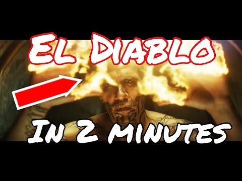 Suicide Squad - El Diablo in 2 Minutes ( 2016 ) - YouTube