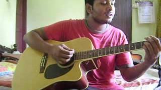 Ninne Kandu Kandu Unaram ( La Cochin)- Guitar cover