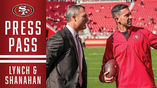 John Lynch and Kyle Shanahan Recap Draft and Joe Staley's Retirement | 49ers