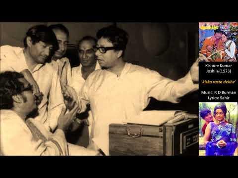 Kishore Kumar - Joshila (1973) - 'kiska rasta dekhe'