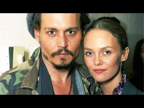 Johnny Depp and Vanessa Paradis - Love Story