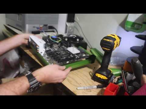 3D Printed Bitcoin Mining Rig Frame