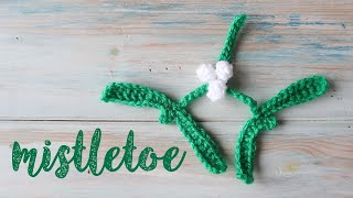 Today I show you how to crochet mistletoe! An easy project suitable for beginners. This tutorial is part of my countdown to Christmas advent calendar on my ...