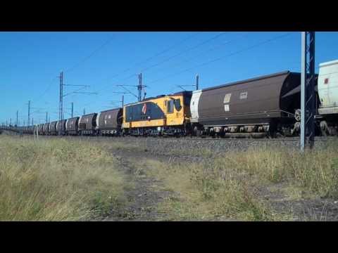 Central Queensland Coal Trains.