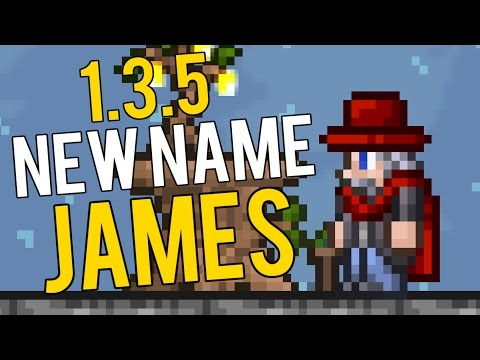 James The Clothier! Terraria 1.3.5 Clothier Changes (New Name) 1.3.5 PC Update