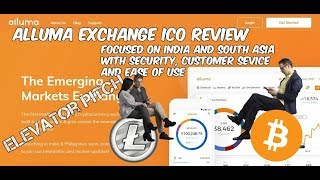 Alluma Exchange ICO Review Focused On Security, Customer Service And Ease of Use Elevator Pitch