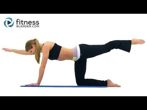 Toning Lower Back Workout Routine Best Lower Back Exercises at Home with Fitness Blender