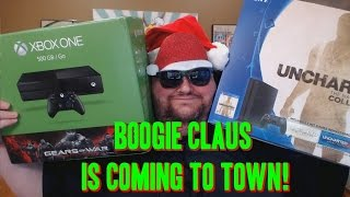 Boogie Claus is Coming to Town! Win An Xbox one or Ps4!