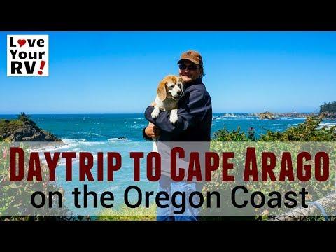 Day Trip to Cape Arago State Park on the Oregon Coast (2017/18 Snowbird Trip)