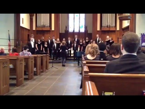 Ching-a-Ring Chaw by Aaron Copland. East Burke High School Chamber Singers 03/03/2016