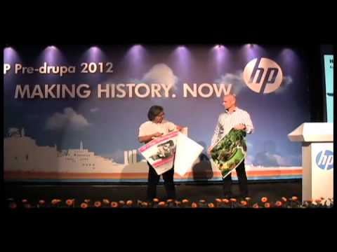 B2-Format HP Indigo Digital Press Steals HP's Pre-drupa Show
