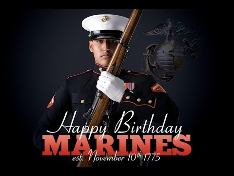 FAMOUS MARINES 2016 version - 241 Marine Corps Birthday